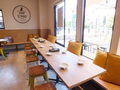 HOP STAND 神戸モザイク店 店内の画像