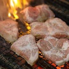 備長炭でふっくら焼き上げる逸品料理