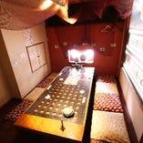 通称「VIP」8名様までご利用できる完全個室あり!宴会にどうぞ