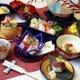 令和にふさわしい会席料理をお楽しみください。