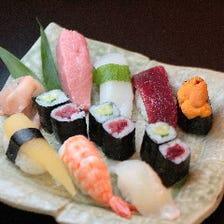 職人が握る極上寿司コース