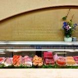 ★新鮮な魚介類が並ぶ★