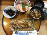 穴子4ヶ+海鮮丼
