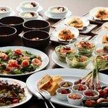 【宴会】旬の食材を使用したコースメニュは月替わり!