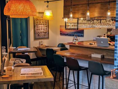 Oyster bar UOICHI  店内の画像