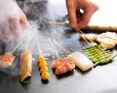 串焼きも鉄板焼きもドリンクも! 真心調理と真心接客で皆さんにお届けいたします!