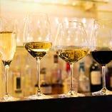 [抜群のコスパ] 高級&希少ワインも500円~楽しめます