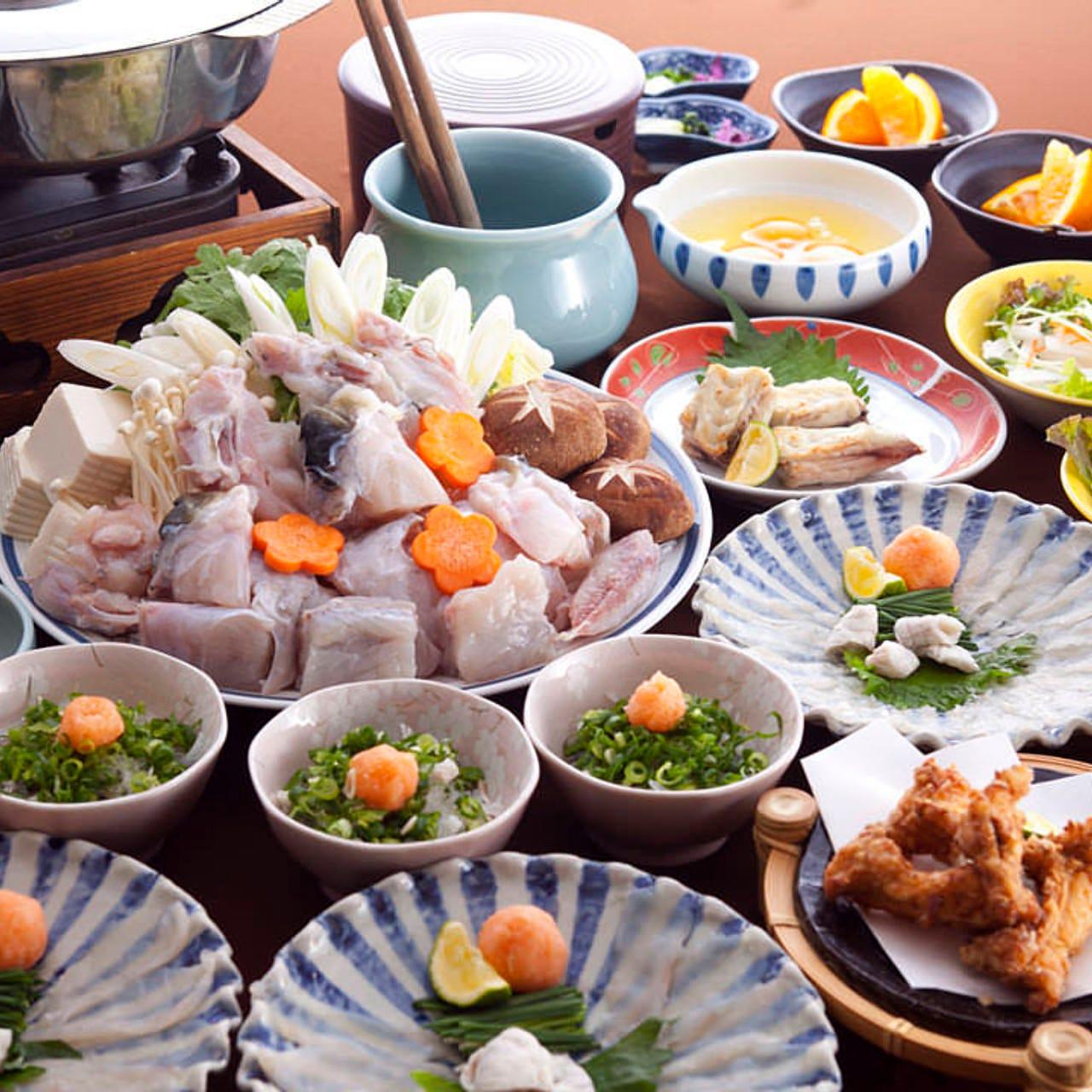 2時間飲み放題+茶椀蒸し+焼肉+握り寿司+炉端7品!!舟盛付コース