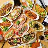 17時パーティ終了まで『2時間食べ飲み放題プラン』がクーポン価格3,000円ポッキリ!
