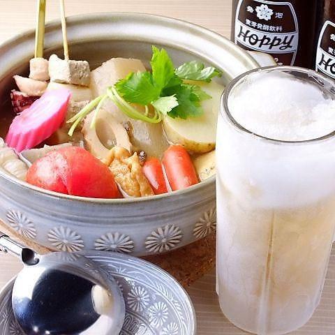 創作料理と日本酒のおでんでんでん 栄町店
