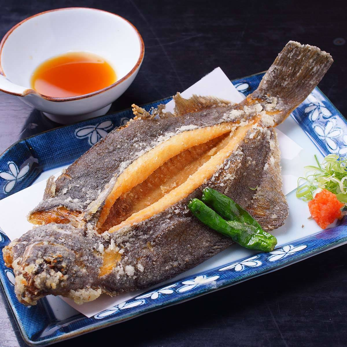 全国各地から仕入れた旬の鮮魚を様々な調理法でご提供いたします