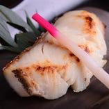 自家製 銀鱈の吟醸酒粕漬焼き