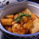 穴子と豆腐 おろし煮