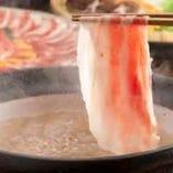 豚しゃぶ鍋(4月~9月)