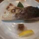 本日の魚のカマ(旬の魚)