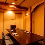 テーブル完全個室(6~8名様)