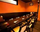 【1階 テーブル席】 テーブル席にてご宴会もできます^^