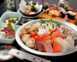 【ご宴会コース】 寄せ鍋コースは お1人様 3000円