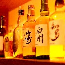 お酒の種類も豊富♪
