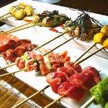 バラエティに富んだラインナップ 新たな美味しさ「アレンジ串」