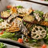 旬菜のサナカサラダ