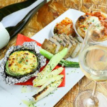 窯焼きでご用意する温野菜はインスタ映えもする一品で人気です!