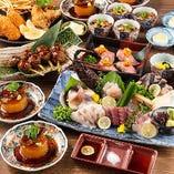 豪華食材!飲み放題付宴会コース4,000円~ご用意してます!
