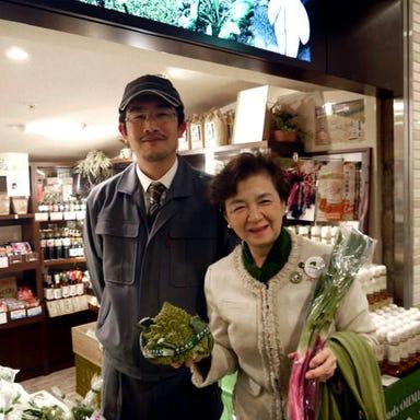花様 ka-you NU茶屋町 近江自家栽培ファーム直営店 店内の画像