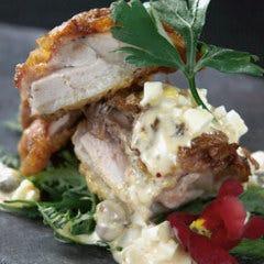 近江鶏ムネ肉のチキン南蛮 ゴロゴロ比良利助卵の黄金タルタルソース
