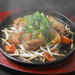 近江鶏モモ肉と日野牛蒡のジューシー唐揚げ 油淋鶏ソース