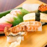 寿司盛り合せ