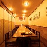 【8~14名様/テーブル】グループでの宴会に最適な個室