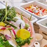 お野菜【季節ごとに食材の仕入れ先は異なります。】