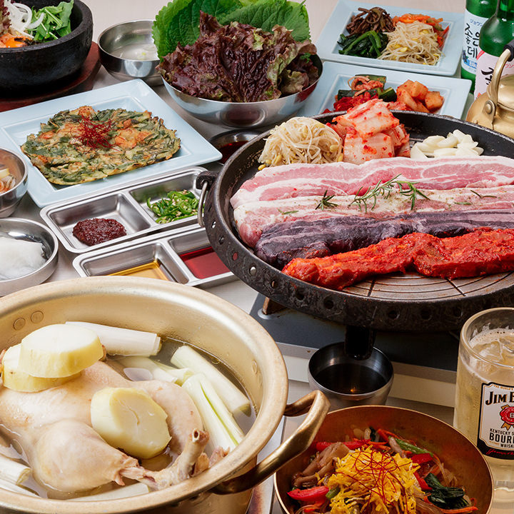 久し振りの宴会!本格韓国料理で乾杯