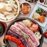 本格韓国料理で宴会を!南屋では五味五色の多彩なコースをご用意