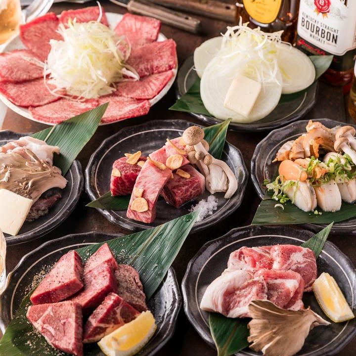 鉄板料理を存分に楽しめるコースを2,000円からお得にご用意!
