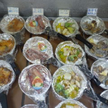 食べ放題用 メロカマ・やりいかバター・海鮮アヒージョ・あさりバター