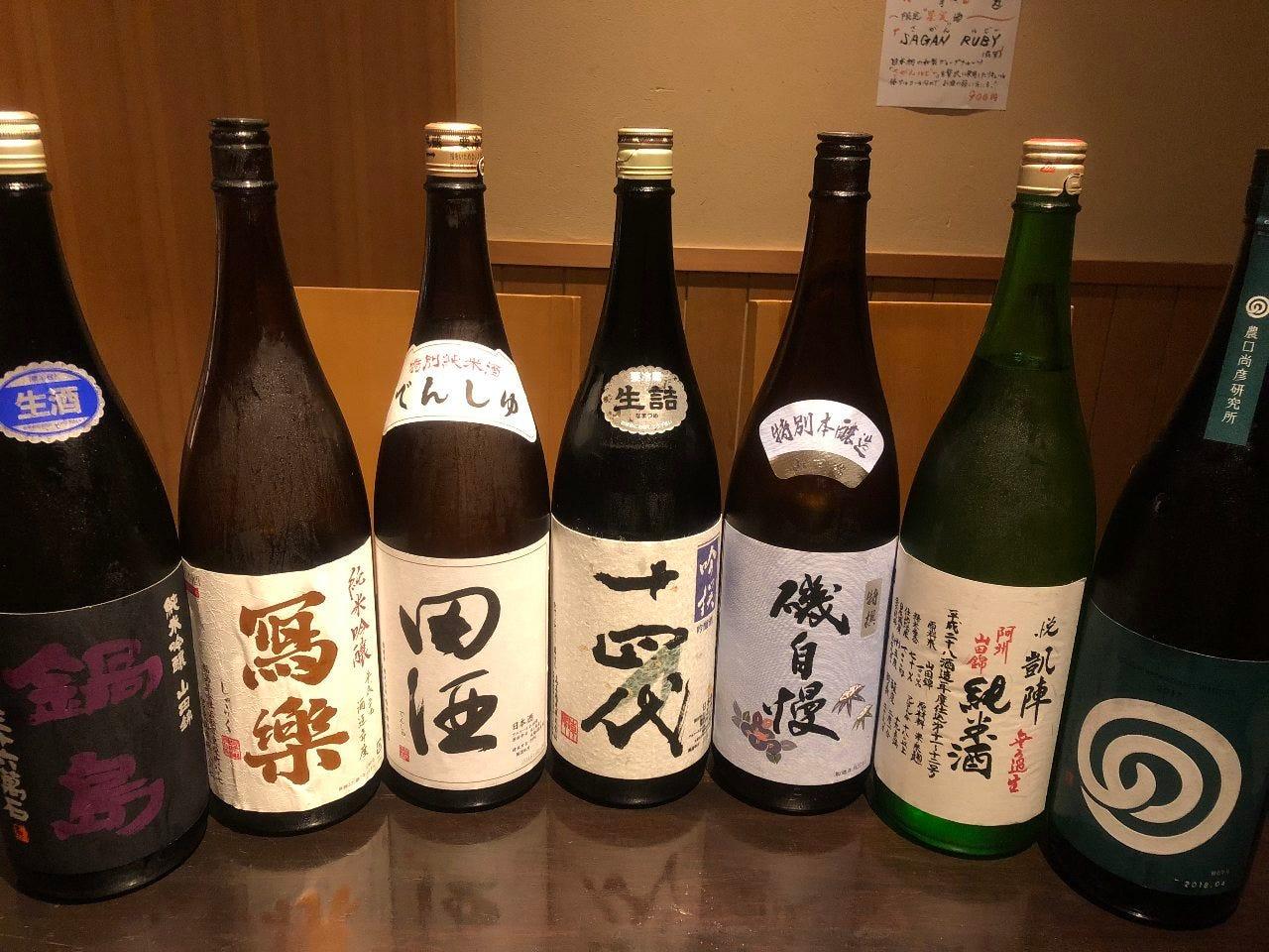 利酒師が選ぶ【特選銘酒】数十種!