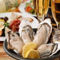 牡蠣とワインと魚と肉と。 鵜の木にて