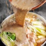 季節関係ナシの『名物すりおろし自然薯とろろ鍋』…絶品です。