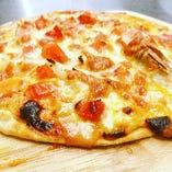 紅ずわい蟹ピザ
