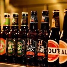 日本と世界各地のビールを取り揃えてあります!!