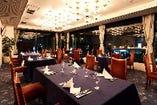 熊谷の街を望む展望レストラン