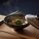 極上さえずり と 若豆の煮物椀