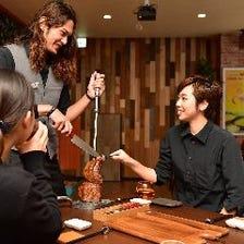 ◆長岡初のシュラスコ専門店