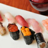 握り寿司 (茶碗蒸し・味噌汁付き)