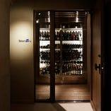 常時 約200種のワインを取り揃えています
