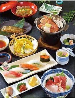 寿司うどん 源氏家族 吉岡店  コースの画像