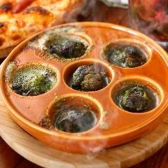 ガーリックバターのエスカルゴのオーブン焼き