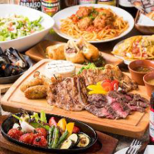 ボリューム満点の厳選肉で贅沢宴会